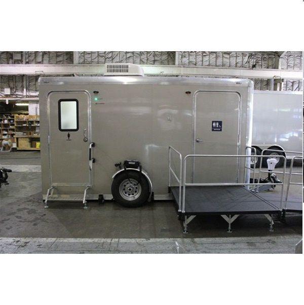 Alpha ADA room +1 full size restroom trailer
