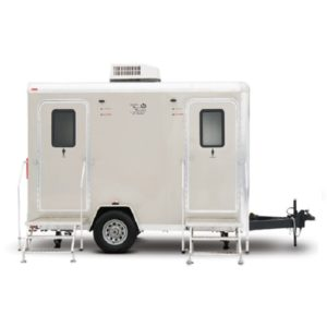 Alpha II Mobile Restroom Trailer
